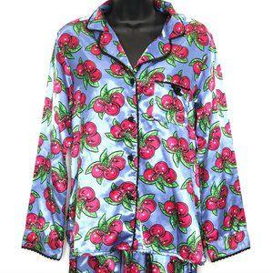Betsey Johnson Intimates Cherry Pajama Set